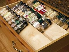Spice Drawer... Awesome!