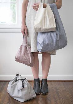 Stowe Bag Pattern by Grainline Studio