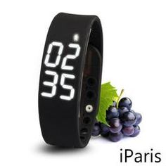 1. Display Health Parameters This Smart Bracelet can display the time, steps, distance and calorie clearly. Let you know your sports data right now! 2. Snyc Sports Data When bluetooth paired, you can