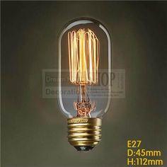 [MingBen] Vintage Edison Bulbs Incandescent Bulbs Filament Retro Edison Light For Pendant Lamp Vintage Lighting, Glass Decor, Lamp, Pendant Lamp, Bulb, Edison Light Bulbs, Incandescent Lighting, Vintage Bulb, Filament Bulb Lighting