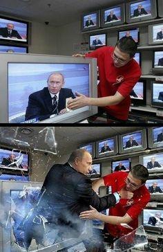 lol rootin tootin Putin is at it again