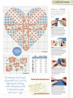'The Best of British' from Cross Stitcher No. 235, February 2011