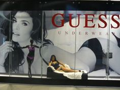 Live models in Guess window displays