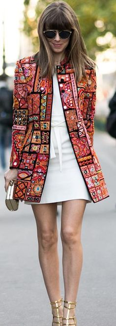 Jackets with dress