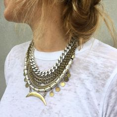 In love with this fashion-forward necklace!