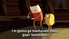 Animated gif uploaded by Iloveyoudearrx. Find images and videos about adventure time on We Heart It - the app to get lost in what you love. Adventure Time Quotes, Cartoon Video Games, Finn The Human, Jake The Dogs, Slumber Parties, Geek Out, Reaction Pictures, Haha Funny, Sword Art