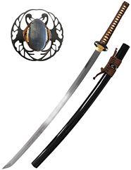 Katana, sabre japonais, iaïto, bokken, entraînement (a partir de 120€, choisir avec fourreau)