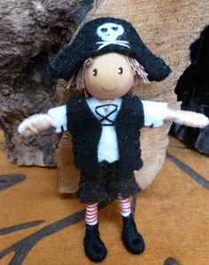 Pirate bendy dolls