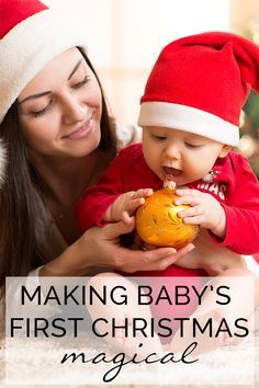 Making Baby's First Christmas Magical - some simple family traditions you can start no matter what age your baby is at their very first Christmas.