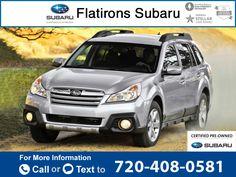 2014 *Subaru*  *Outback* *2.5i*  28k miles $22,306 28438 miles 720-408-0581 Transmission: Automatic  #Subaru #Outback #used #cars #FlatironsSubaru #Boulder #CO #tapcars