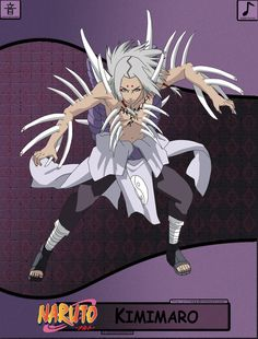 Name : Kimimaro Age : 15 (Deceased) Affiliation : Otogakure Clan : Kaguya Clan Kekkei Genkai : Shikotsumyaku Team : Sound Five Cursed Seal : Earth Birthdate : June 15 Shikotsumyaku : Kimimaro's abi. Naruto Shippuden Hd, Naruto Uzumaki Art, Anime Naruto, Kekkei Genkai, Naruto Clans, Symbiotes Marvel, Ninja, Naruto Oc Characters, Naruto Tattoo