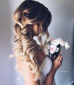 stunning romantic braid