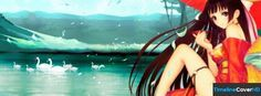 Hentai Anime Girl Facebook Timeline Cover Facebook Covers - Timeline Cover HD