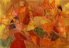 Joven oriental irrumpe en la corte - Autor: María Elena Di Tullio