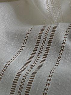 Diferentes tipos de vainicas, que lleva la cortina.