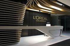 Reception Reception Counter Design, Office Reception Design, Modern Reception Desk, Corporate Office Design, Corporate Interiors, Office Interior Design, Office Interiors, H Design, Foyer Design