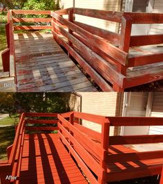 Habitat For Humanity, Before And After Pictures, Home Repairs, Outdoor Furniture, Outdoor Decor, Habitats, Exterior, Wood, Home Decor