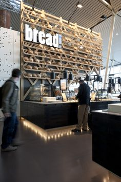 Bread restaurant on Amsterdam airport