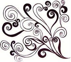 simple swirl vector - 236×207