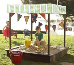 why not?  The little ones always love a sandbox.