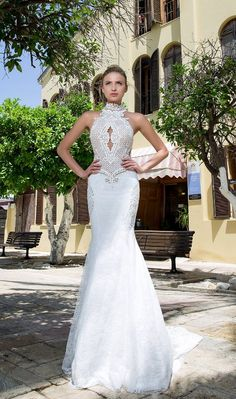 Featured Wedding Dress: Michal Medina; www.michalmedina.com; Wedding dress idea.