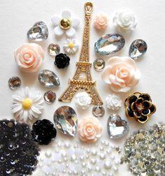 LOVEKITTY DIY 3D Eiffel Tower Bling Cell Phone Case Resin Cabochons Deco Kit / Set DIYJewelryDepot http://www.amazon.com/dp/B008PKFNZO/ref=cm_sw_r_pi_dp_D56Nub1CGAZKA