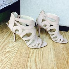 Nine West Blush Heels These gladiator style heels are perfect for spring and summer months. They're also extremely comfortable, at a moderate heel height Nine West Shoes Heels