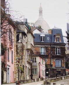 """conflictingheart: """"Montmartre via CLANGART """""""