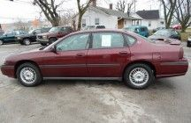 2001 CHEVROLET IMPALA    114,471 Miles    Sedans and Coupes | Automatic  6 cylinders | 3.4 engine    $1000 DOWN $275/MONTH