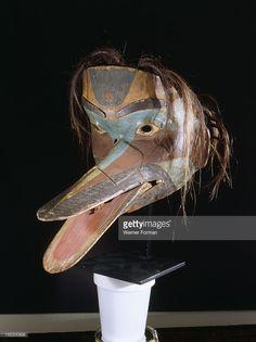 Humanoid bird mask Humanoid bird mask, Northwest Coast of America. Tsimshian or Tlingit (Klukwan). early 19th c . (Photo by Werner Forman/Universal Images Group/Getty Images)