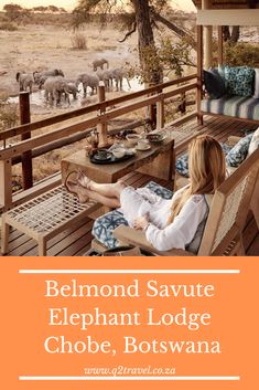 Take a look at Belmond Savute Elephant Lodge
