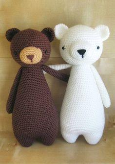 Bear crochet pattern by Little Bear Crochets: www.littlebearcrochets.com ❤️ #littlebearcrochets #amigurumi