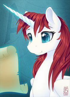 A for Alicorn by ~SkyHeavens on deviantART