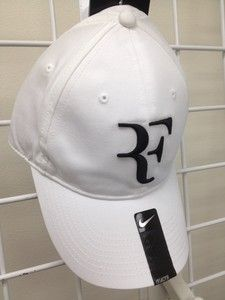 63f9f9c6 Details about New Nike RF Roger Federer Hat Cap White / green Tennis Dri  Fit 371202-110