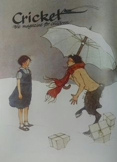 Cricket Magazine 1982 (cover by Lisbeth Zwerger)