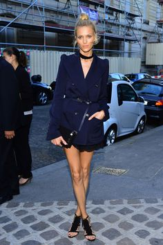 Anja Rubik Off-Duty style—so chic!
