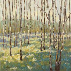 Trees in Blue Green Kunstdrucke von Libby Smart bei AllPosters.de