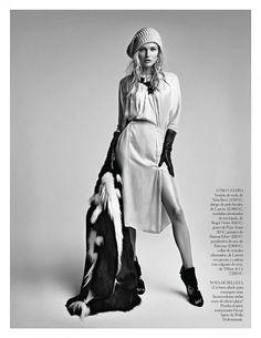 Edita Vilkeviciute in Vogue Spain's January Issue - 44FashionStreet.com