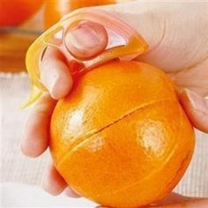 Smart Creative Orange Opening Device Kitchen Tools Stripper Fruit Vegetable Tools Plastic Gadget Cooking Tools -46