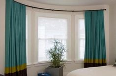 Curved Curtain Rod for Bay Window Ideas - http://window.cwsshreveport.com/curved-curtain-rod-for-bay-window-ideas/