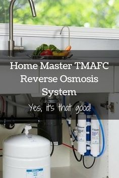 This is a really great reverse osmosis system that has very high ratings on Amazon. It makes great tasting water, removes all kinds of contaminants, and it adds minerals back to the water so it's not acidic. Get all the details in this review.