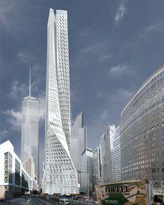 Edgar Street Towers -  Iwamoto Scott - New York, USA