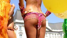 Samba dancers - Carnival in Rio de Janeiro, Brasil #samba #carnival #kilroy #traveling #culture #dancer Samba Samba, South America, Travel Inspiration, Dance, Bikinis, Fashion, Rio De Janeiro, Brazil, Carnavals