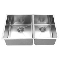 BOANN's double bowl undermount kitchen sink is an excellent upgrade and addition to any home. Constructed from premium grade stainless steel, this sink will not oxidize or rust and is lead-free. Sink