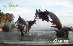 #laspuertasdmazatlan #terrenosenmazatlan #grupoaries #lotesenmazatlan TERRENOS EN MAZATLÁN. En el Monumento a la Continuidad de la Vida, se aprecia una pareja sobre un caracol, y frente a ellos delfines que saltan en el agua de una fuente. Simboliza el comienzo, equilibrio y final de la vida. GRUPO ARIES le da la oportunidad de conocer esta escultura al construir su casa en LAS PUERTAS D´MAZATLÁN. 1800 USA.- 1-855-522-7437 y 01800 MÉXICO.- 01800-607-0345