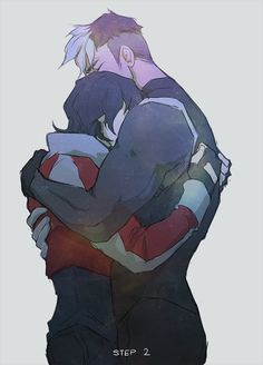 "Shiro and Keith from ""Voltron: Legendary Defender."""