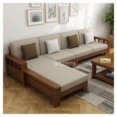 Corner Sofa Design, Sofa Bed Design, Corner Sofa Set, Living Room Sofa Design, Home Room Design, Corner Sofa Wooden, Living Room Sofa Sets, Simple Sofa, Simple Living