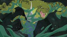 SuperHeroGirls-Killer Croc 9 by GiuseppeDiRosso on DeviantArt Killer Croc, Hero Girl, Furry Drawing, Gotham City, Warner Bros, Tv, Rogues, Cartoon Characters, Character Inspiration