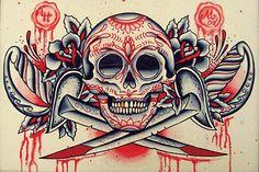 American Traditional Tattoo Flash