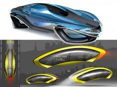 Art Center 2012: Levitating Concept Vehicles